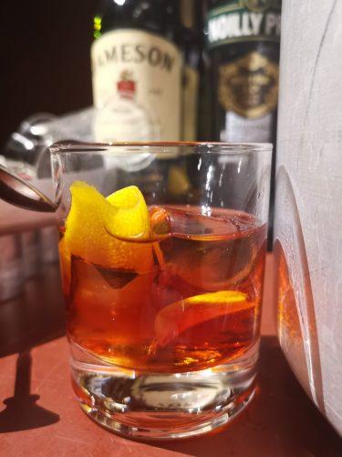 Klassisk drink på Uplands